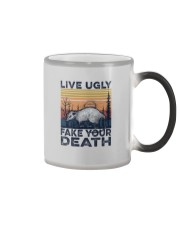 LIVE UGLY FAKE YOUR DEATH a Color Changing Mug thumbnail