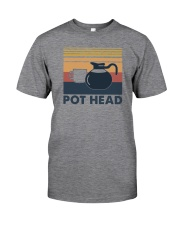 POT HEAD FUNNY COFFEE Classic T-Shirt front