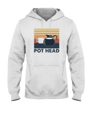 POT HEAD FUNNY COFFEE Hooded Sweatshirt thumbnail