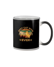 BEST CAT MOM EVER Color Changing Mug thumbnail