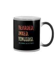 BEARDED INKED BONUSDAD Color Changing Mug thumbnail