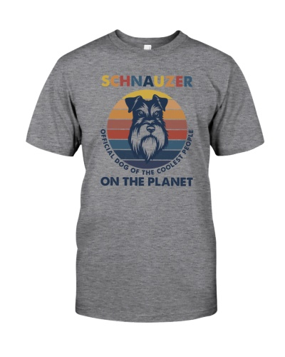 SCHNAUZER OFFICIAL DOG OF THE COOLEST PEOPLE