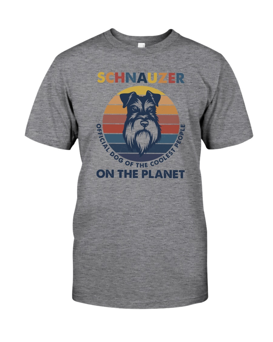 SCHNAUZER OFFICIAL DOG OF THE COOLEST PEOPLE Classic T-Shirt