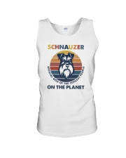 SCHNAUZER OFFICIAL DOG OF THE COOLEST PEOPLE Unisex Tank thumbnail