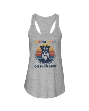 SCHNAUZER OFFICIAL DOG OF THE COOLEST PEOPLE Ladies Flowy Tank thumbnail