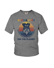 SCHNAUZER OFFICIAL DOG OF THE COOLEST PEOPLE Youth T-Shirt thumbnail