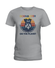 SCHNAUZER OFFICIAL DOG OF THE COOLEST PEOPLE Ladies T-Shirt thumbnail