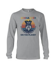 SCHNAUZER OFFICIAL DOG OF THE COOLEST PEOPLE Long Sleeve Tee thumbnail