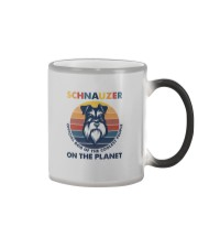 SCHNAUZER OFFICIAL DOG OF THE COOLEST PEOPLE Color Changing Mug thumbnail