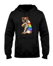 FURRIDE BULLDOG Hooded Sweatshirt thumbnail