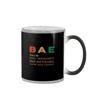 BLACK AND EDUCATED Color Changing Mug tile