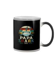 PAPA SHARK VINTAGE Color Changing Mug thumbnail