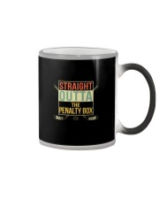 STRAIGHT OUTTA THE PENALTY BOX Color Changing Mug thumbnail