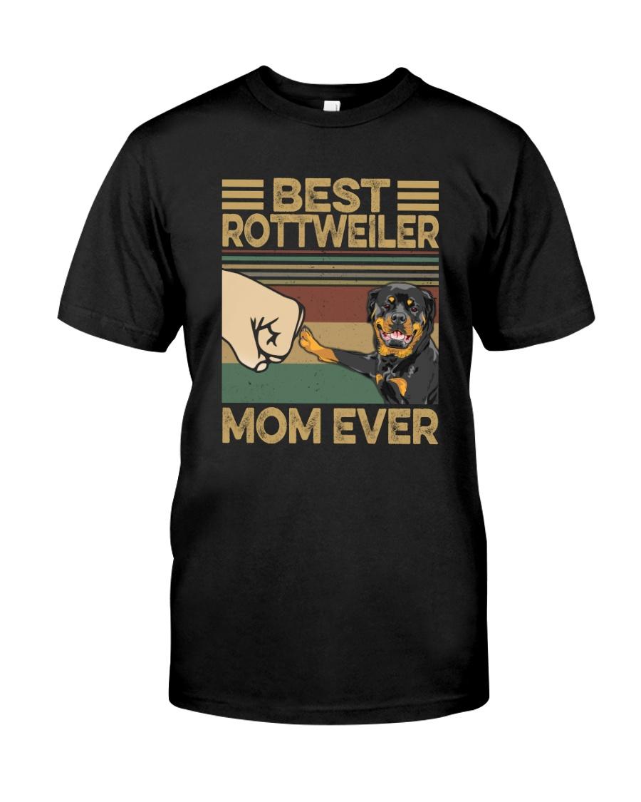 BEST Rottweiler MOM EVER s Classic T-Shirt