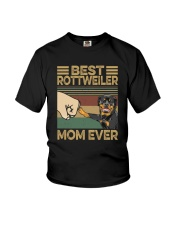 BEST Rottweiler MOM EVER s Youth T-Shirt thumbnail