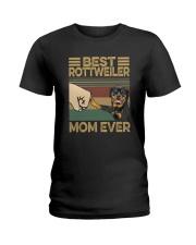 BEST Rottweiler MOM EVER s Ladies T-Shirt thumbnail