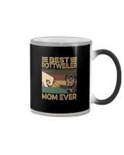 BEST Rottweiler MOM EVER s Color Changing Mug thumbnail