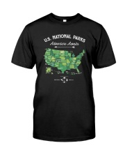 US NATIONAL PARKS a Classic T-Shirt front