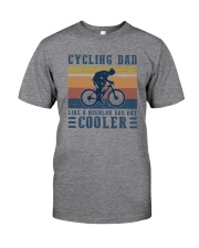 CYCLING DAD COOLER DAD Classic T-Shirt front