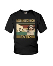 BEST Shih tzu MOM EVER s Youth T-Shirt thumbnail