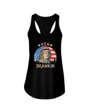 USA FLAG BEN DRANKIN Ladies Flowy Tank thumbnail