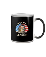USA FLAG BEN DRANKIN Color Changing Mug thumbnail