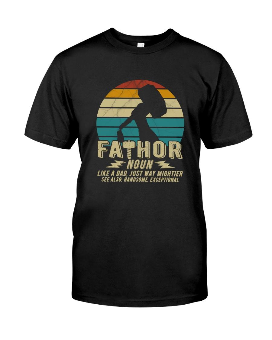 FATHOR NOUN VINTAGE Classic T-Shirt