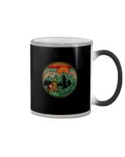 RETRO VINTAGE QUARANTINE FUNNY CAMPING Color Changing Mug thumbnail