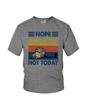 NOPE NOT TODAY CAT Youth T-Shirt thumbnail