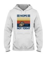 NOPE NOT TODAY CAT Hooded Sweatshirt thumbnail