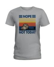 NOPE NOT TODAY CAT Ladies T-Shirt thumbnail