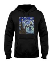 STARRY NIGHT HUSKY Hooded Sweatshirt thumbnail