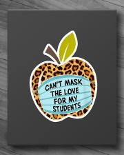 CAN'T MASK THE LOVE FOR MY STUDENTS LEOPARD Sticker - Single (Vertical) aos-sticker-single-vertical-lifestyle-front-10