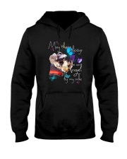 MAY THERE BE AN ANGEL BY MY SIDE SCHNAUZER Hooded Sweatshirt tile
