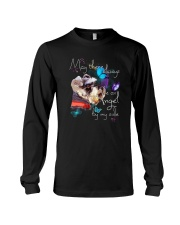 MAY THERE BE AN ANGEL BY MY SIDE SCHNAUZER Long Sleeve Tee tile