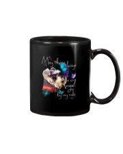 MAY THERE BE AN ANGEL BY MY SIDE SCHNAUZER Mug tile