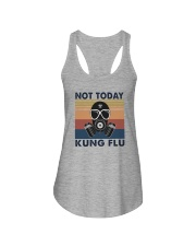 NOT TODAY KUNG FLU VINTAGE Ladies Flowy Tank thumbnail