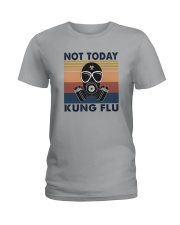 NOT TODAY KUNG FLU VINTAGE Ladies T-Shirt tile
