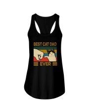 BEST CAT DAD EVER VT Ladies Flowy Tank thumbnail