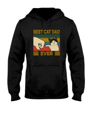 BEST CAT DAD EVER VT Hooded Sweatshirt thumbnail