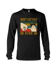 BEST CAT DAD EVER VT Long Sleeve Tee thumbnail