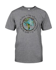 NATURE IS MY RELIGION THE EARTH IS MY CHURCH Classic T-Shirt front