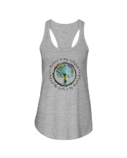 NATURE IS MY RELIGION THE EARTH IS MY CHURCH Ladies Flowy Tank thumbnail
