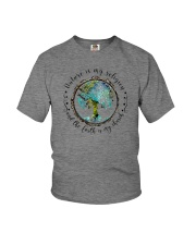 NATURE IS MY RELIGION THE EARTH IS MY CHURCH Youth T-Shirt thumbnail