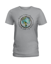 NATURE IS MY RELIGION THE EARTH IS MY CHURCH Ladies T-Shirt thumbnail