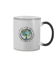 NATURE IS MY RELIGION THE EARTH IS MY CHURCH Color Changing Mug thumbnail