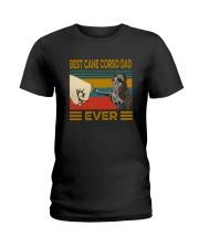 Best Cane Corso Dad Ever Ladies T-Shirt thumbnail