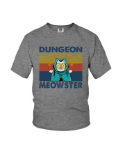 DUNGEON MEOWSTER Youth T-Shirt thumbnail