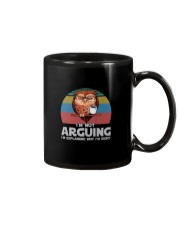 I'M NOT ARGUING COFFEE VINTAGE OWL Mug tile