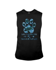 EASILY DISTRACTED BY DOGS AND TURTLES Sleeveless Tee thumbnail